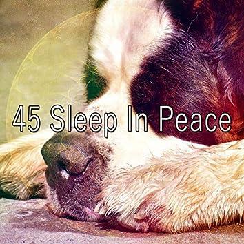 45 Sleep in Peace