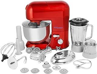 Super General 800W Kitchen Factory, Multi-functional stand mixer, Blender, Mincer, Chopper, Beater, Red, SGKF-1086-DR, 58....