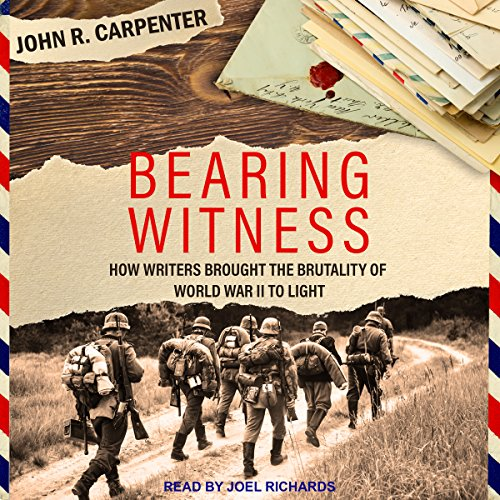 Bearing Witness audiobook cover art