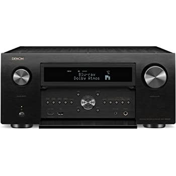 Denon AVR-X8500H Flagship Receiver - 8 HDMI In /3 Out, Powerful 13.2 Channel (150 W/Ch) Amplifier | Dolby Surround Sound | Alexa + HEOS Compatibility