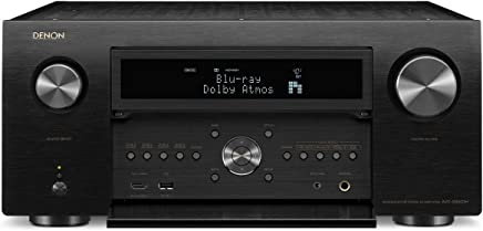 Denon AVR-X8500H Flagship Receiver-8 HDMI In /3 Out, Powerful 13.2 Channel (150 Watt/Ch) Amplifier Home Theater Dolby Surround Sound, Black