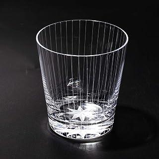 江戸切子 立縞紋 オールドグラス(透き)TB0036-40 化粧箱入り 太武朗工房直販 日本製