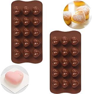 WWW Silicone Chocolate Bomb Mold , Heart Shaped Silicone Mold, Baking Mold for Making Hot Chocolate Bomb,Cocoa Bomb,Cake, ...