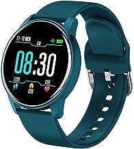 Vrouwen Smart Horloge Real-Time Weersvoorspelling Activiteit Tracker Hartslagmeter Sport Dames Smart Horloge Mannen voor A...