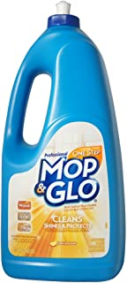 Mop & Glo Professional Multi-Surface Floor Cleaner, 64 oz Bottle, Triple Action Shine Cleaner
