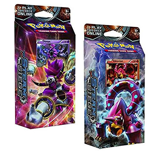 small Pokemon XY Steam Siege-themed 60-card deck – Fire Gear and Lightning Ring!