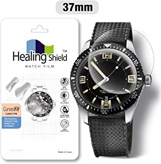 Smartwatch Screen Protector Film 37mm for Round Wrist Watch Healing Shield Analog Watch Glass Screen Protection Film (37mm) [1PACK]