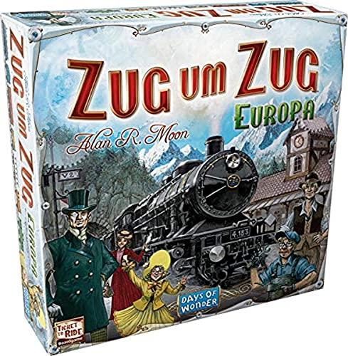 Asmodee Zug um Zug: Europa, Grundspiel, Familienspiel, Deutsch