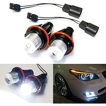 Car Auto Angel Eye Ring LED Marker Light Part For BMW E39 E60 E53 E65 E83 X3 E53