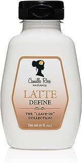 Camille Rose Naturals Latte Define Leave-In Hair Conditioner 9 fl oz
