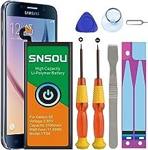 Galaxy S6 Battery, [Upgraded] SNSOU 3100mAh EB-BG920ABE...