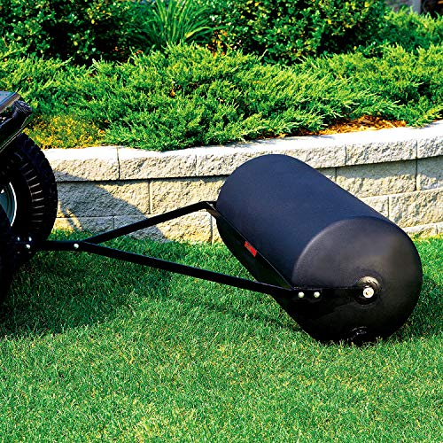 Brinly PRT-36SBH 390-Pound Tow Behind Poly Lawn Roller, 18 by 36-Inch