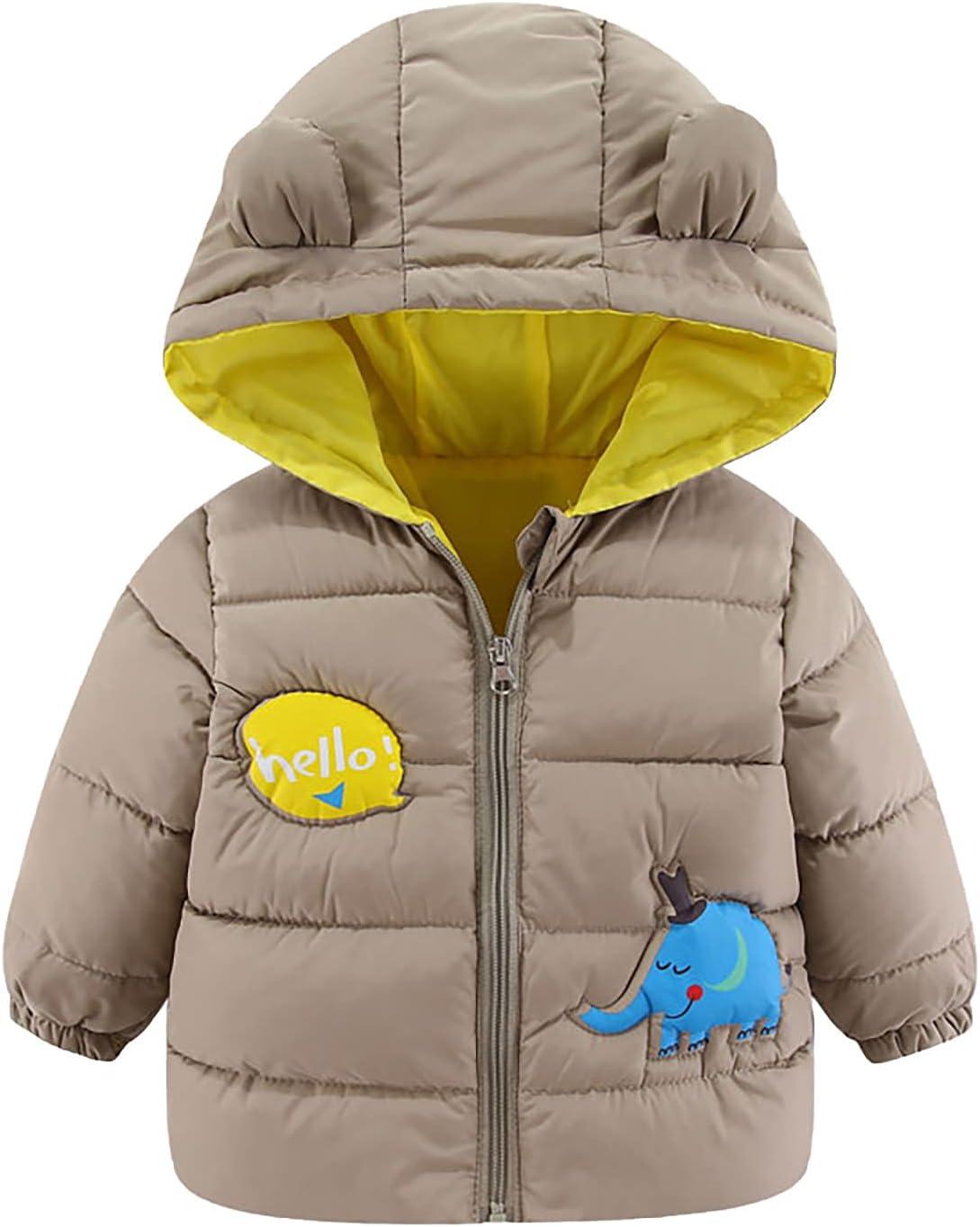Children's Fashion Jacket-Winter wholesale Baby Award Girls Boys Cute Ea Cartoon