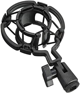 DSHUJC Universal Shock-proof Microphone Mount Plastic Studio Mic Holder Stand Clip For Large Diaphram Condenser,Variation:...