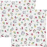 REDBEST Stuhlkissen 2er-Pack Blumen Größe 40x40x3 cm