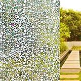 UMI. Pellicola Privacy per Finestre Vetri Autoadesive, Anti-UV, Controllo di Calore, per Bagno Ufficio Camera da Letto Sala di Riunione (90 x 200cm)