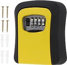 Angoily Key Lock Box Voor Buiten Draagbare Lock Box Voor Huis Sleutel Resettable Code Huis Key Safe Security Lock Box Voor...