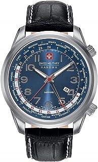 Swiss Military Hanowa - Reloj Analógico para Hombre de Cuarzo con Correa en Cuero 06-4293.04.003