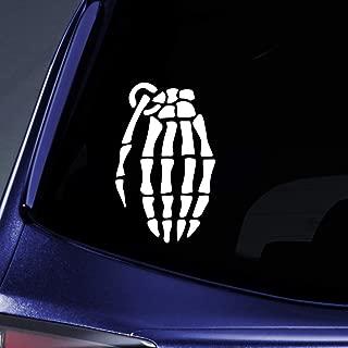 Bargain Max Decals - Grenade Glove - Sticker Decal Notebook Car Laptop 6