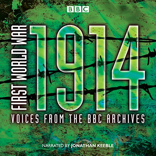 First World War: 1914 audiobook cover art