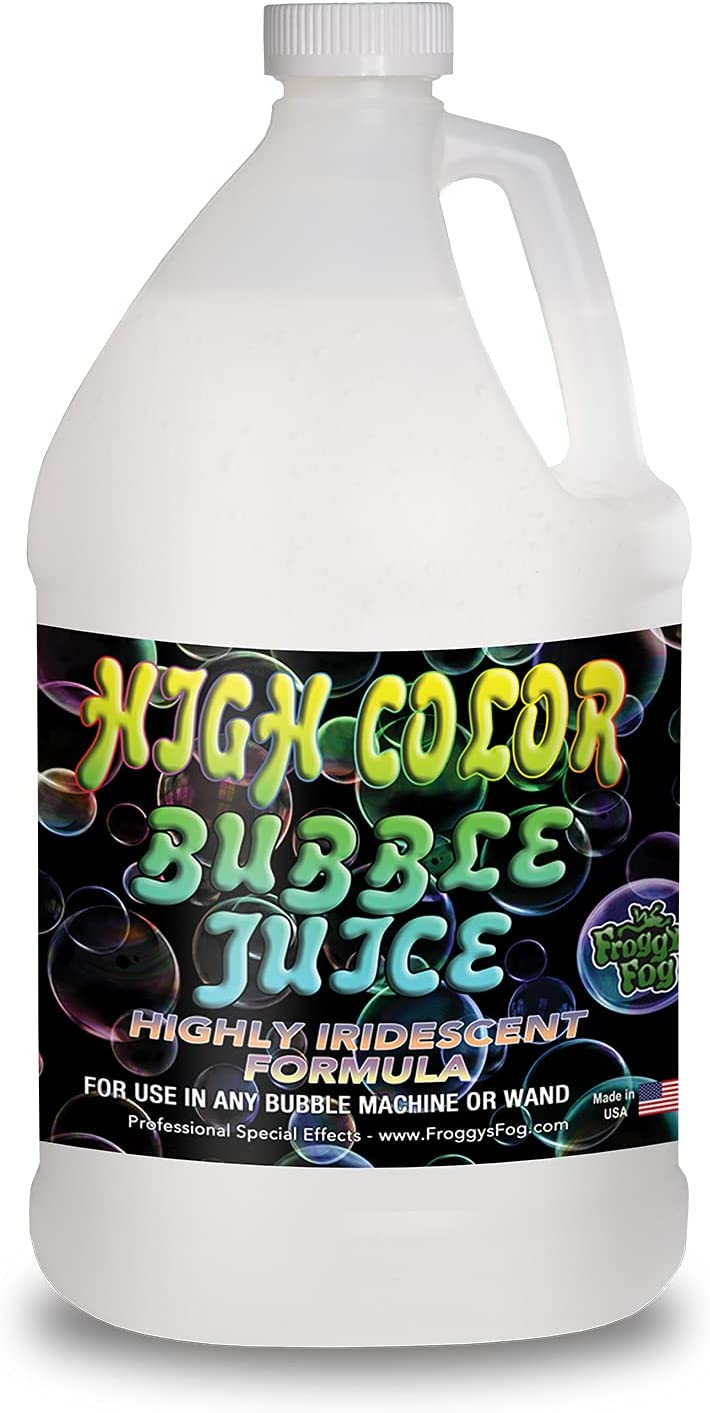 Froggys Fog - High Color Bubble Juice - Strong, Long-Lasting, Ir