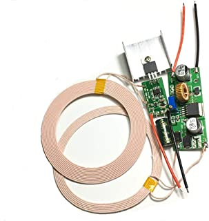 Taidacent 12V 2A High Power 8mm ~ 18mm Wireless Charging Module DIY Inductive Modules Wireless Charger Module Power Supply...