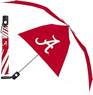 McArthur University of Alabama Crimson Tide Umbrella 42 Inches Automatic Folding