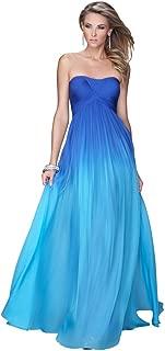 Ombre Chiffon Prom Dress Style 20986