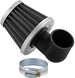Sporacingrts 35mm Air Filter 50cc 2 Stroke 90 Degree Angled Scooter Motorcycle ATV Pocket Bike