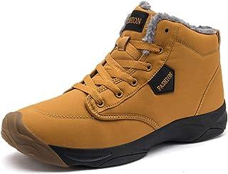 Hommes Chaussures de Randonnée Résistant Antidérapant Extérieure Entrepôt Bottes Haut Haut De Montagne Bottes Baskets Auto...