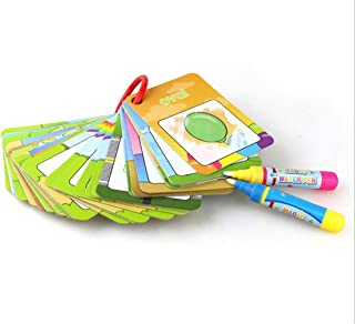 LyGuy Magic Water Drawing 26 English Learning Card Painting Educational Kids Baby Toy Letter Cards Gift For Kids