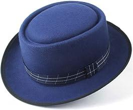 KCBYSS Sombrero de Pastel de Cerdo de Mujer de Moda for Hombre con Sombrero de Fiesta de Baile de Tela for Sombrero de Fieltro de Lana sin Sabor de papá