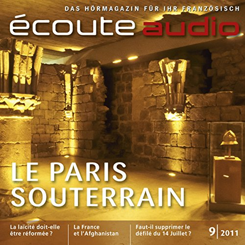 Écoute audio - Le Paris souterrain. 9/2011 audiobook cover art