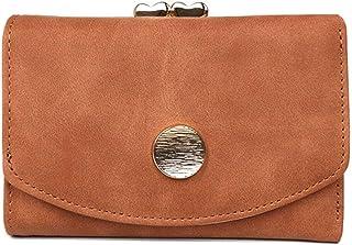 [ZOCCKI]二つ折り財布 レディース がま口 ミニ財布 コンパクト 小銭入れ 短財布 かわいい 開運財布 軽量