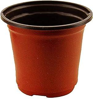 Plant Flower Pots Plastic Flowerpot Soft Flowers Nursery Storage Pots Container Garden Supplies Decoration for Indoor Outd...