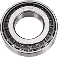 uxcell 30208 Tapered Roller Bearing Cone and Cup Set, 40mm Bore 80mm OD 18mm Thickness