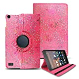 Amazon Fire HD 8 (2017,2018) Case, Luxury Printed Design