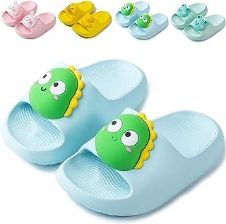 NEUSOP Badslippers voor kinderen, douche, badschoenen, voor jongens en meisjes, licht, zomer, platte pantoffels, sandalen ...
