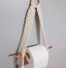 ZMIN Handgeweven Katoen Touw Toilet Papier Houders, Boho Tissue Papier Handdoek Houder Tapestry Plank Wandmontage Decoratie