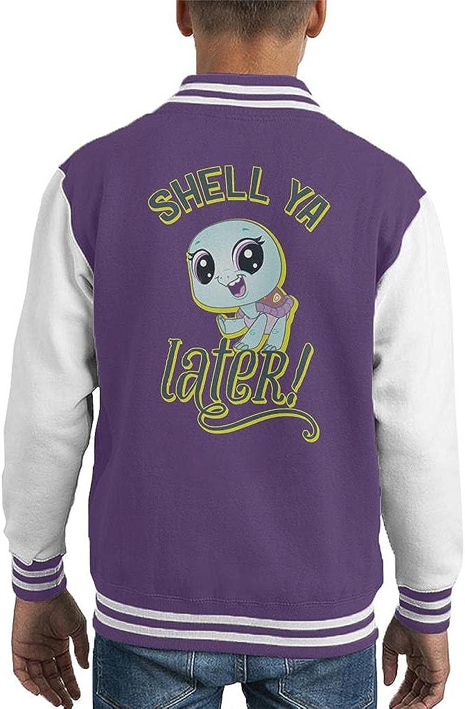 Littlest Pet Shop Shell Ya Later Kid's Varsity Jacket