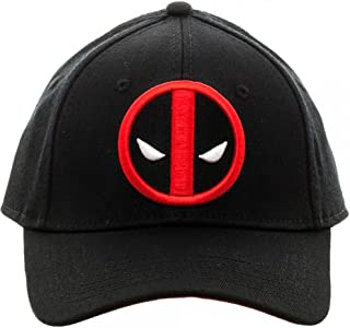 purchase cheap 62a10 6037d Marvel Deadpool Flex Cap Baseball Hat