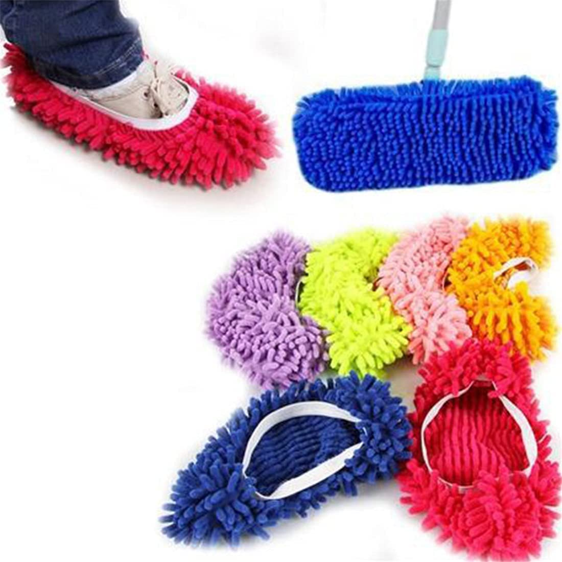 Floor Dust Discount mail order Cleaning Slipper Lazy Cover Cleaner Mop Shoes Multifu Dealing full price reduction