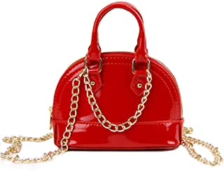 Girl Purses, Little Girls Handbags with Metal Chain for Toddler Kids Mini Tote
