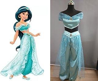 【HALLE】コスプレ衣装 コスチューム アラジンと魔法のランプ 風 ジャスミン 風 (女性Sサイズ)