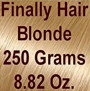 Finally Hair Hair Fiber Refill 250 Grams 8.82 ounces For Hair Loss Concealing by Finally Hair (Blonde (light))