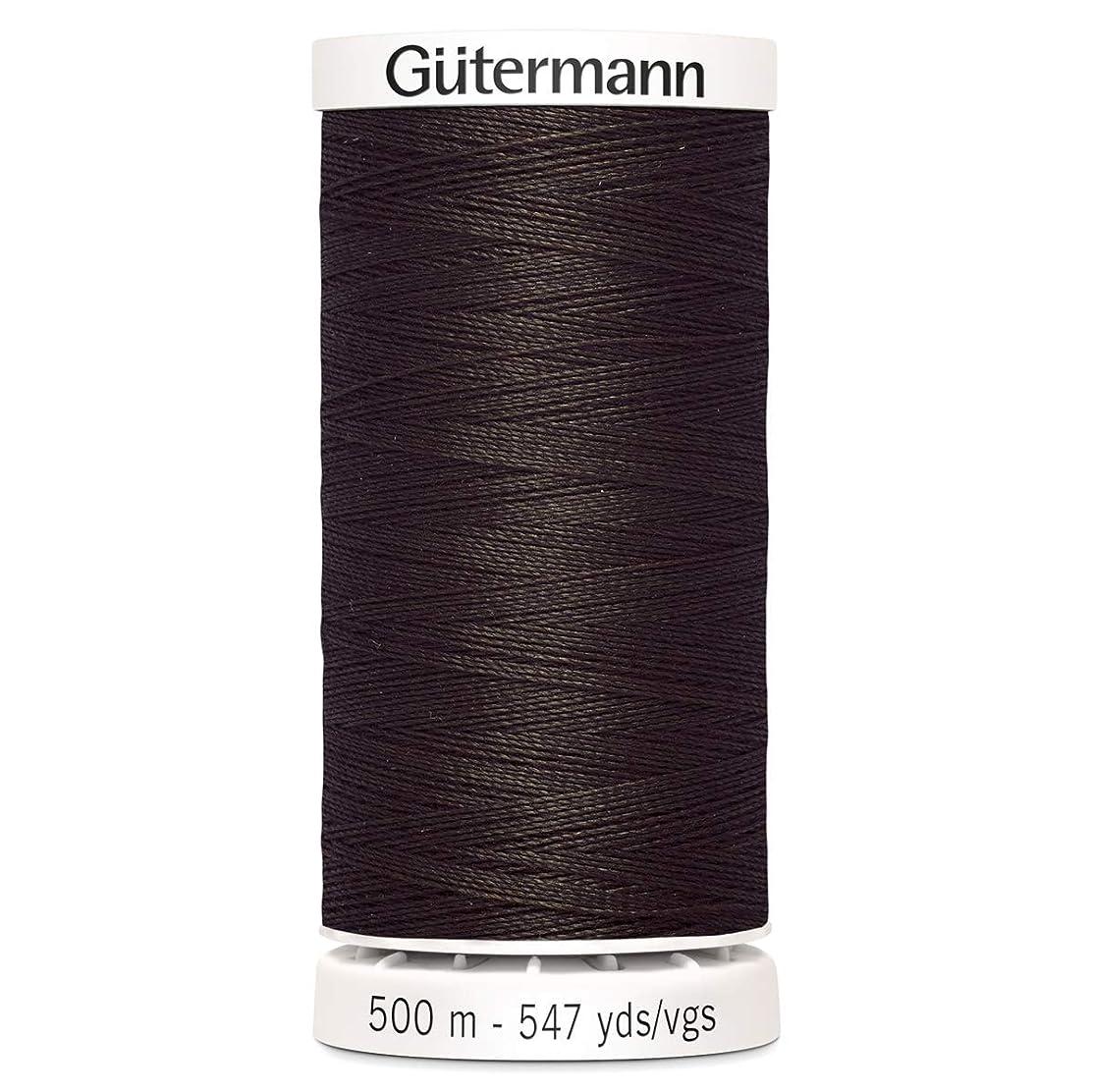 Gutermann Sew All Polyester Thread, 500mtr, Mahogany (0696), 5.5 x 3 x 3 cm