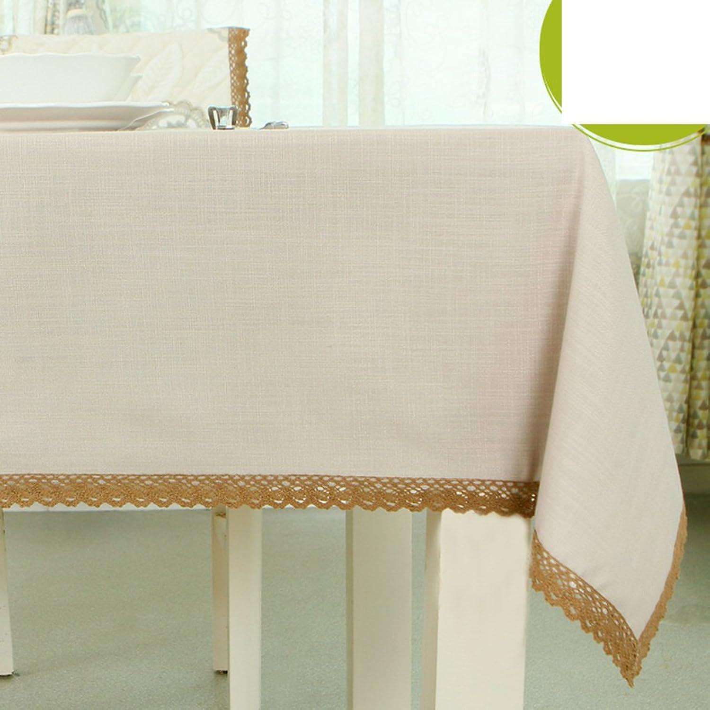 Garten-Tischdecke Tuch  Baumwolle und Leinen Tischdecken Style Tischdecke  Runde Tischdecke  Tischtuch-F 135x220cm(53x87inch)