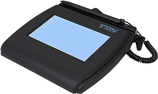 Topaz T-LBK750SE-BHSB-R 4x3 Backlit LCD Signature Capture Pad Dual Serial/USB (Higher Speed Version)