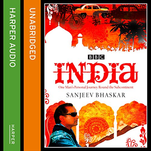 India with Sanjeev Bhaskar audiobook cover art
