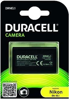 Duracell DRNEL1 - Batería para cámara Digital 7.4 V 750 mAh (reemplaza batería Original de Nikon EN-EL1)